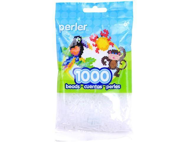 Perler Fun Fusion Beads 1000/Pkg-Clear
