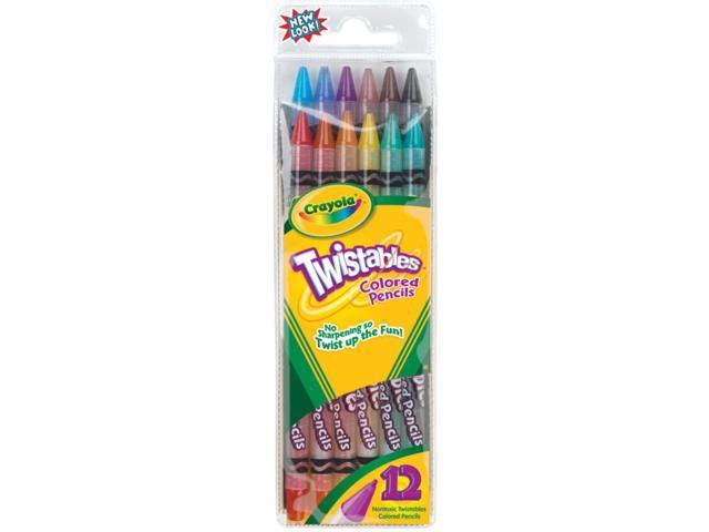 Crayola Twistables Colored Pencils-12/Pkg Long