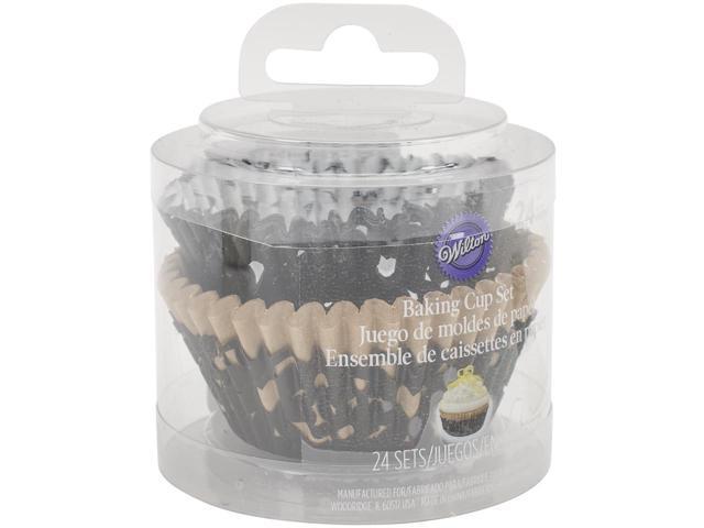 Layering Standard Baking Cups-Black 24/Pkg