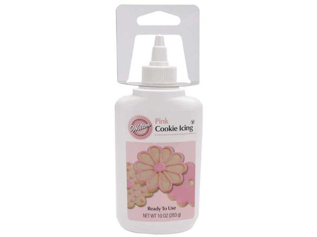 Cookie Icing 10 Ounces-Pink