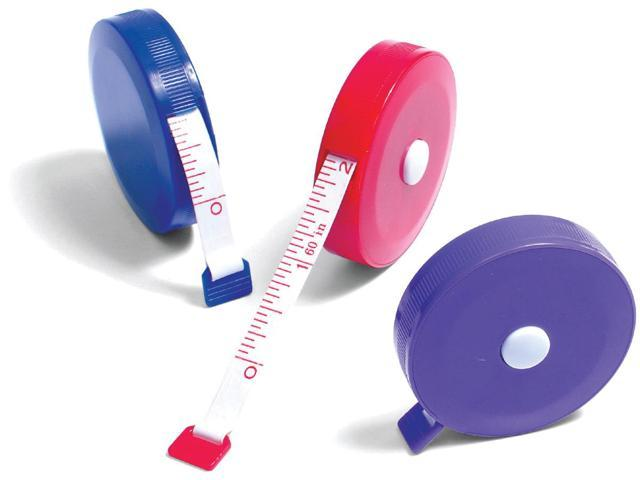 Cloth Tape Measure 24pc Tub Display-Assorted Colors