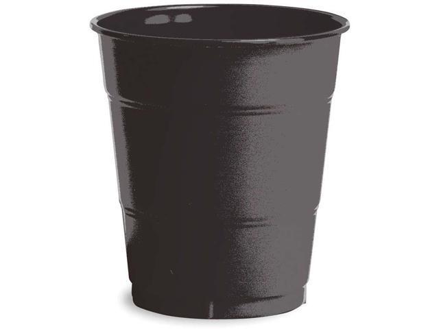 Plastic Cups 12oz 20/Pkg-Black Velvet