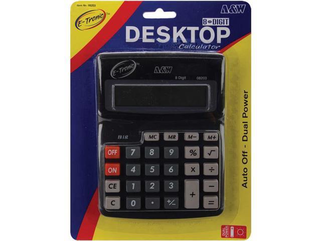 Desktop Calculator 8-Digit 7.5