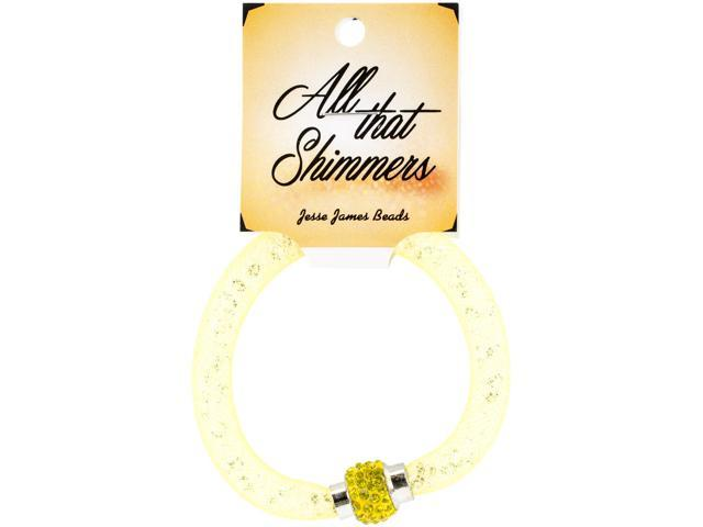 All That Shimmers Readymade Bracelets-Yellow