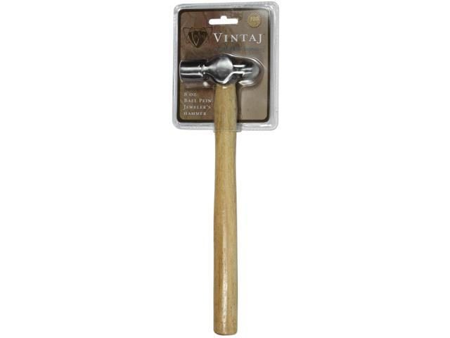 Vintaj Special Edition - 8 oz Ball Pein Hammer For Metal Smithing 3.2 Inch Head (1 Piece)