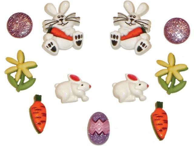 Dress It Up Holiday Embellishments-Bunny Hop