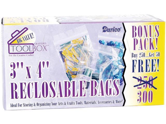 Reclosable Bags 300/Pkg-3