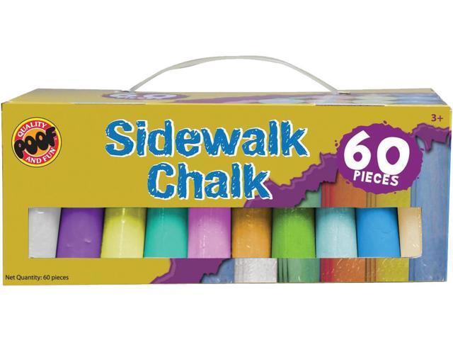Jumbo Sidewalk Chalk 60/Pkg-