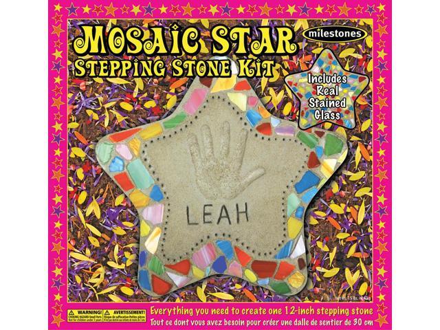 Mosaic Stepping Stone Kit-Star