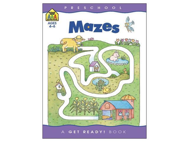 Preschool Workbooks-Mazes - Ages 3-5