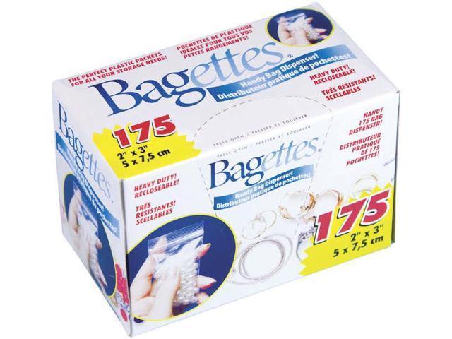 Bagettes Heavy Duty Reclosable Bags 175/Pkg-Clear 2