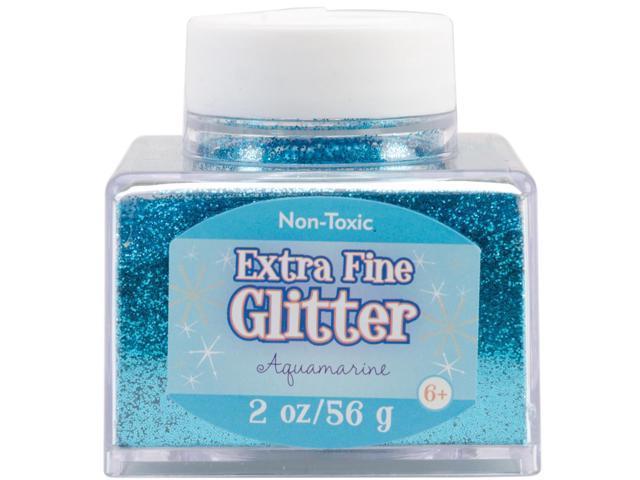 Fine Glitter 2 Ounces-Aquamarine