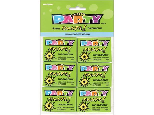Party Favors 6/Pkg-Snaps (50 Count)