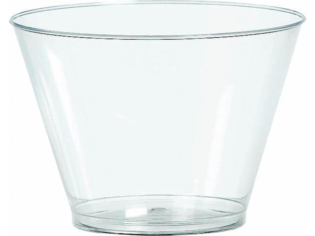 Big Party Pack Plastic Tumblers 5oz 88/Pkg-Clear