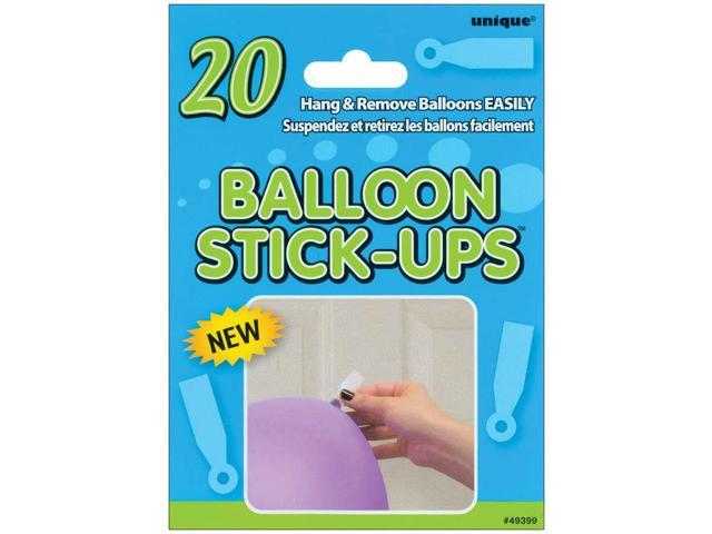 Balloon Stick-Ups 20/Pkg-