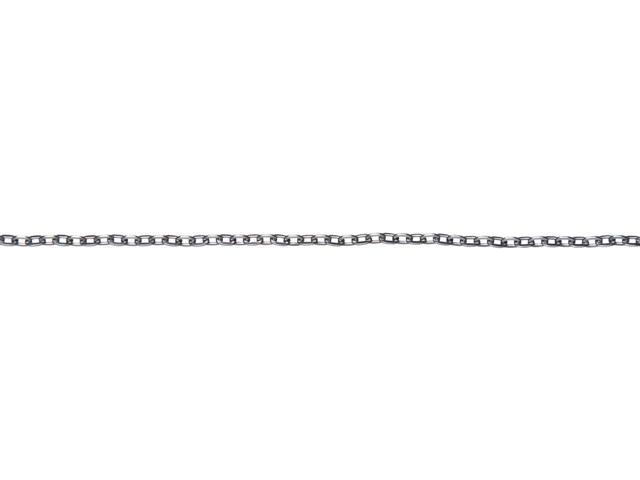 Jewelry Basics Metal Chain 1/Pkg-Gunmetal Small Oval 100