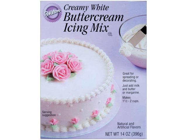 Buttercream Icing Mix 14 Ounces-Creamy White