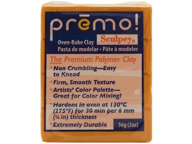 Premo Sculpey Polymer Clay 2oz-Orange