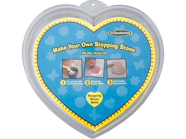Stepping Stone Mold-Heart 12