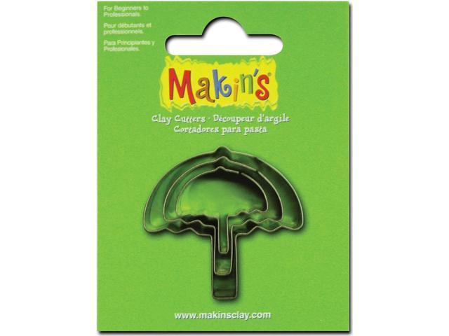 Makin's Clay Cutters 3/Pkg-Umbrella