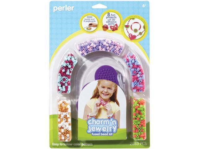 Perler Fused Bead Kit-Charm 'n Jewelry