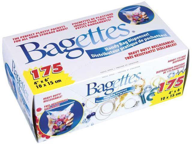 Bagettes Heavy-Duty Reclosable Bags 175/Pkg-4