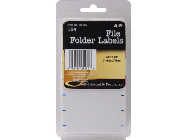 Labels-File Folder .625