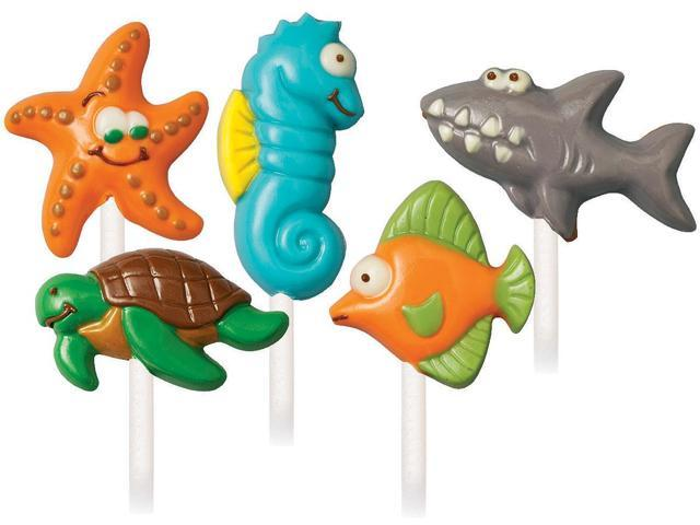 Candy Mold-Sea Creatures 5 Cavities (5 Designs)