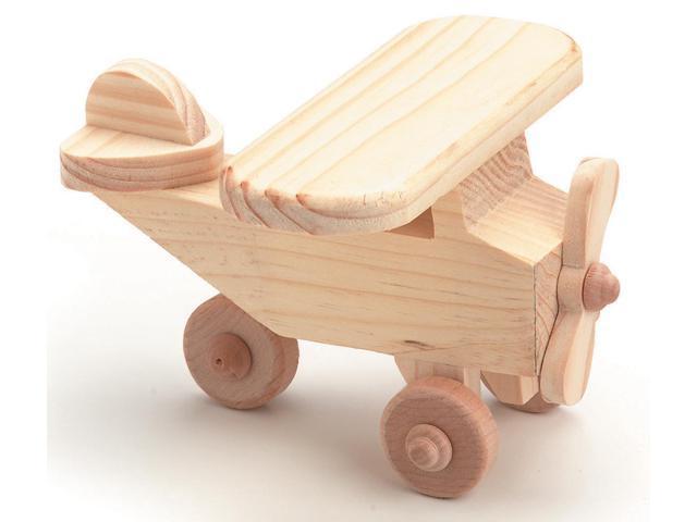 Wood Model Kit-Airplane 4.125