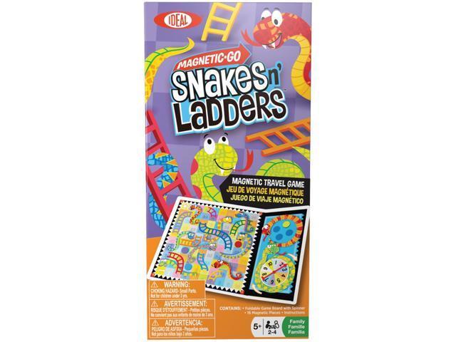 Magnetic Go Travel Game-Snakes N' Ladders