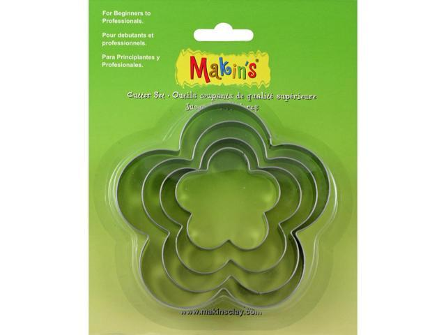 Makin's Clay Cutters 4/Pkg-Flower