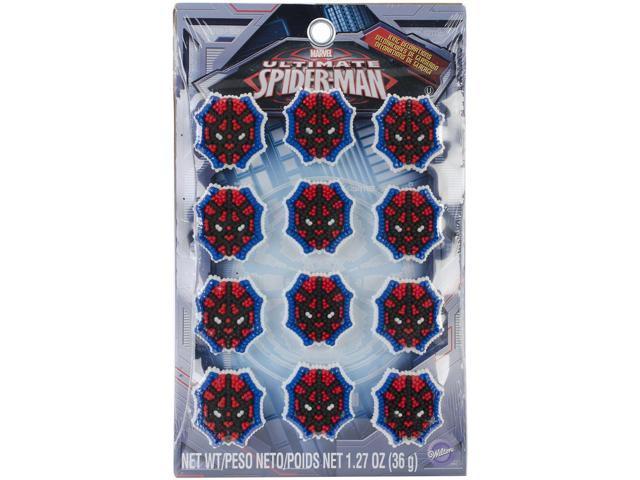 Royal Icing Decorations 12/Pkg-Spider-Man