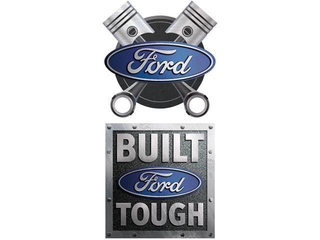 Car Magnet-Ford Built Tough