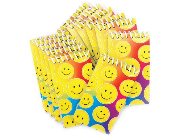 Party Favors 12/Pkg-Smile Note Pads