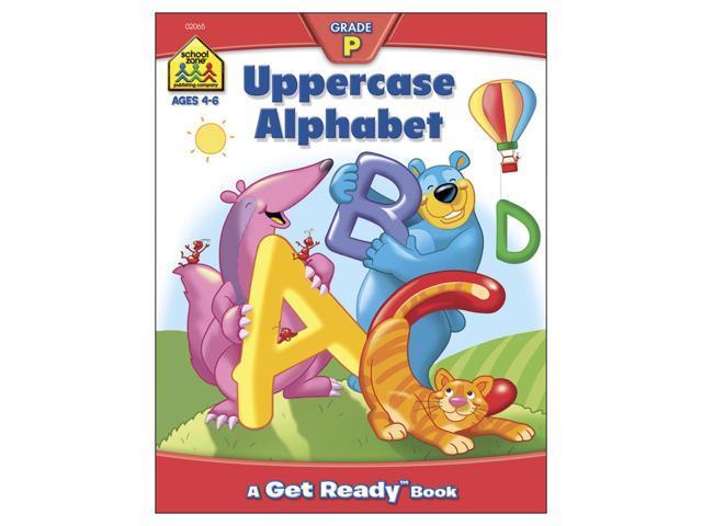Preschool Workbooks-Uppercase Alphabet - Ages 3-5