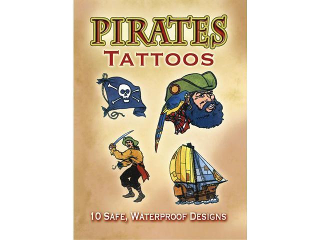 Dover Publications-Pirates Tattoos