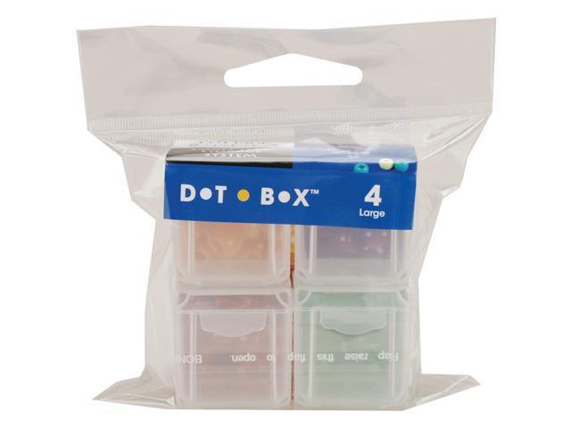 Dot Box Refill Boxes 4/Pkg-Large 1.25