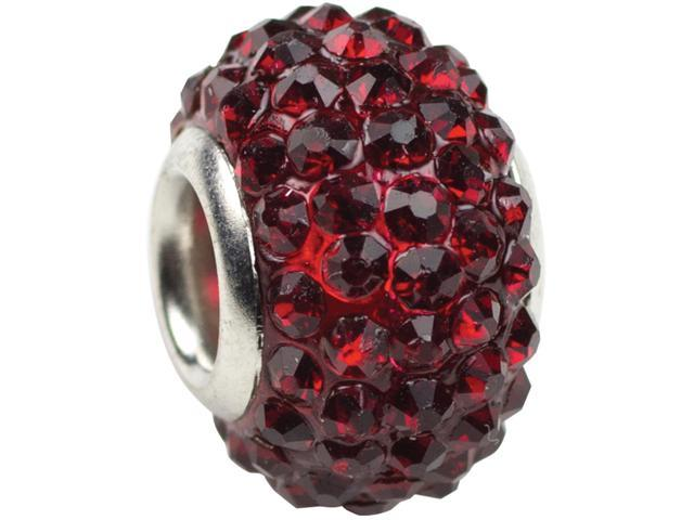 Trinkettes Glass Rhinestone Bead 1/Pkg-January