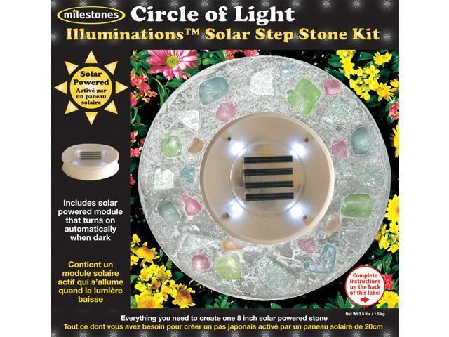 Mosaic Stepping Stone Kit-Circle Of Light