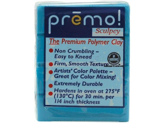 Premo Sculpey Polymer Clay 2oz-Turquoise