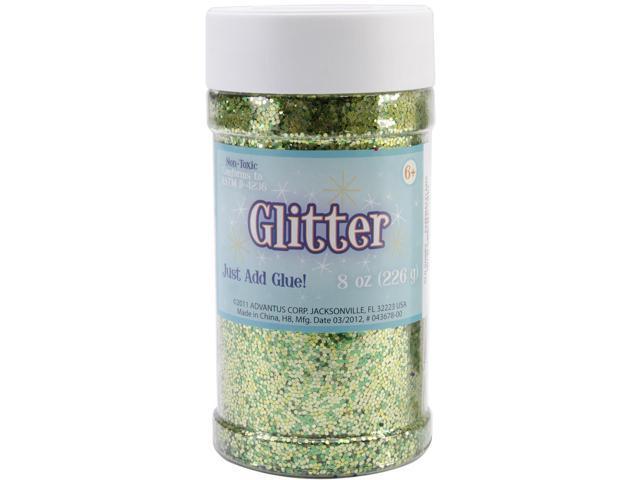 Metallic Glitter 8 Ounces-Green