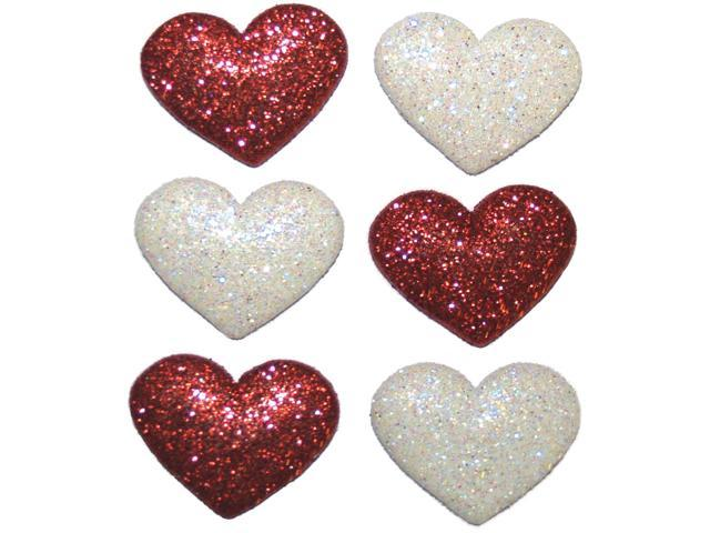 Dress It Up Holiday Embellishments-Heart Strings