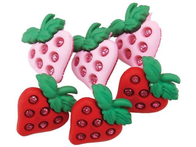 Dress It Up Embellishments-Strawberry Fields