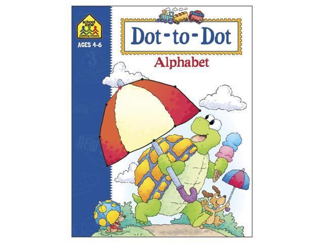Activity Workbook-Dot-To-Dot Alphabet - Ages 4-6