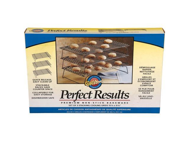 Perfect Results Non-Stick 3-Tier Cooling Rack-15.875