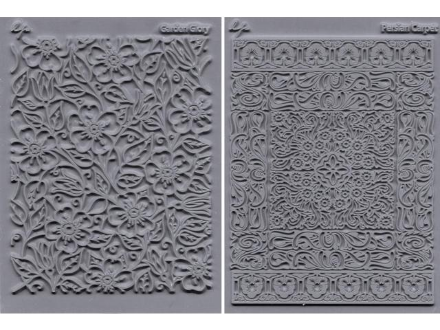 Lisa Pavelka Texture Stamp Set 4.25