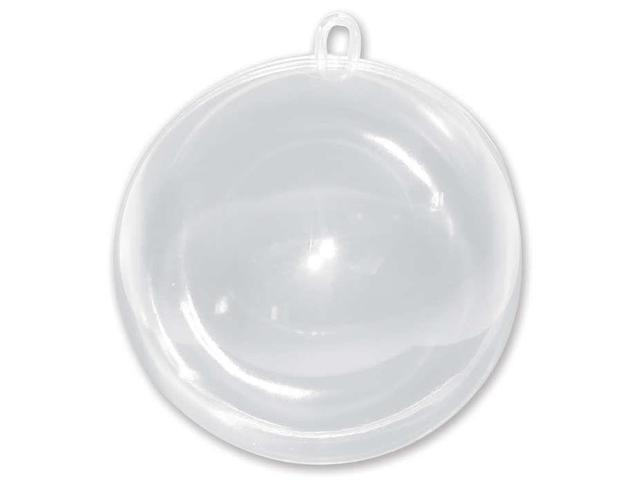 Hanging Ball Ornament 100mm-Clear