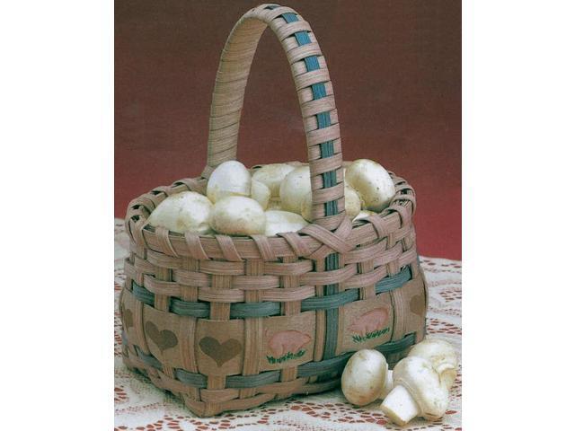 Burgundy Hill Basket Kit-Market Basket 5.5