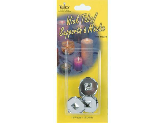 Candle Wick Tabs-12/Pkg