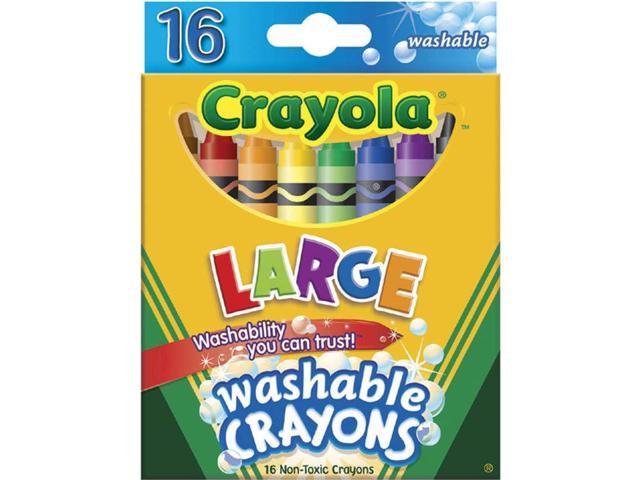 Crayola Large Washable Crayons-16/Pkg